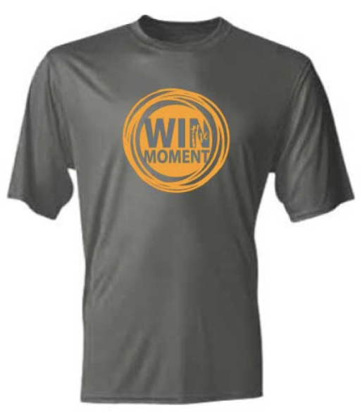 win the moment tshirt grey coach carp john carpenter
